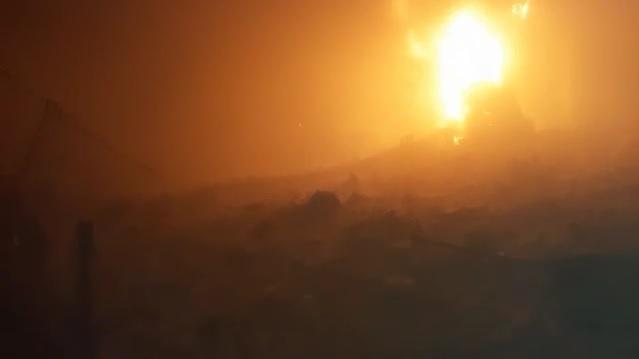 Rus Uçakları Eriha'da Hastane Bombaladı