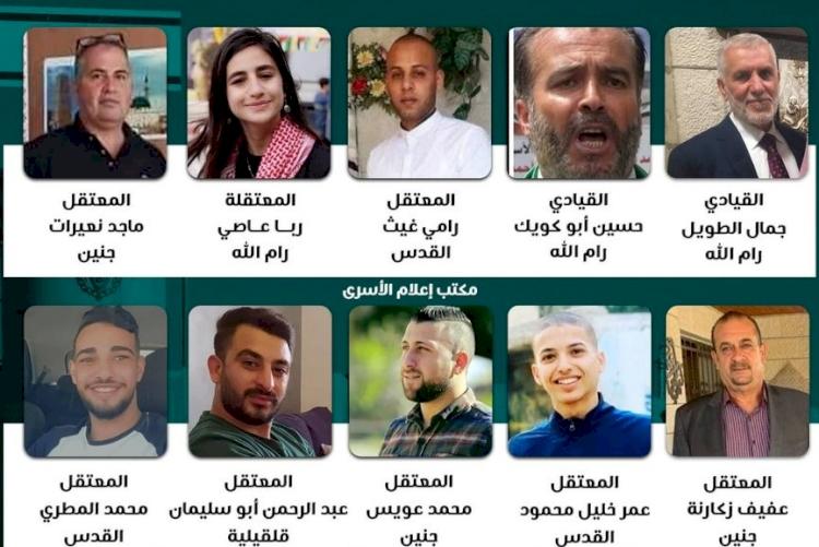 Batı Şeria'da 2 Hamas lideri ve 18 Filistinli gözaltına alındı
