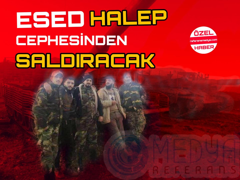 ESED HALEP CEPHESİNDEN SALDIRACAK