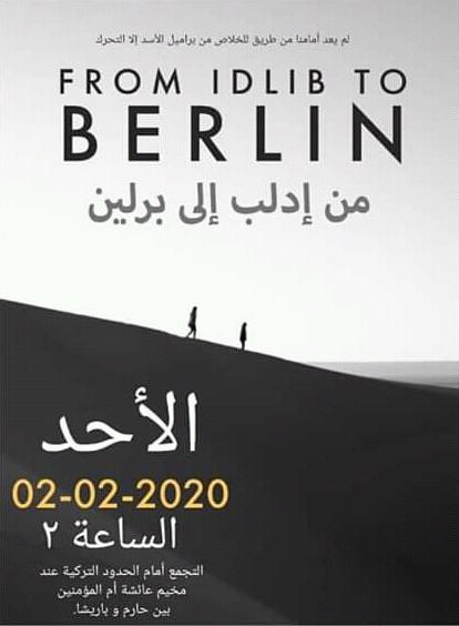 İdlib'te Eylem Hazırlığı; Türkiye Sınırına Yürüyecekler