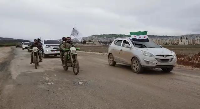 İdlib Cephesine Takviye Birlik