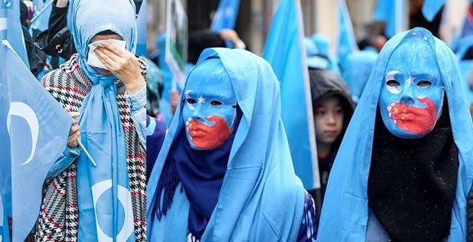 """Uygurlardan """"Bizi unutmayın"""" çağrısı"""