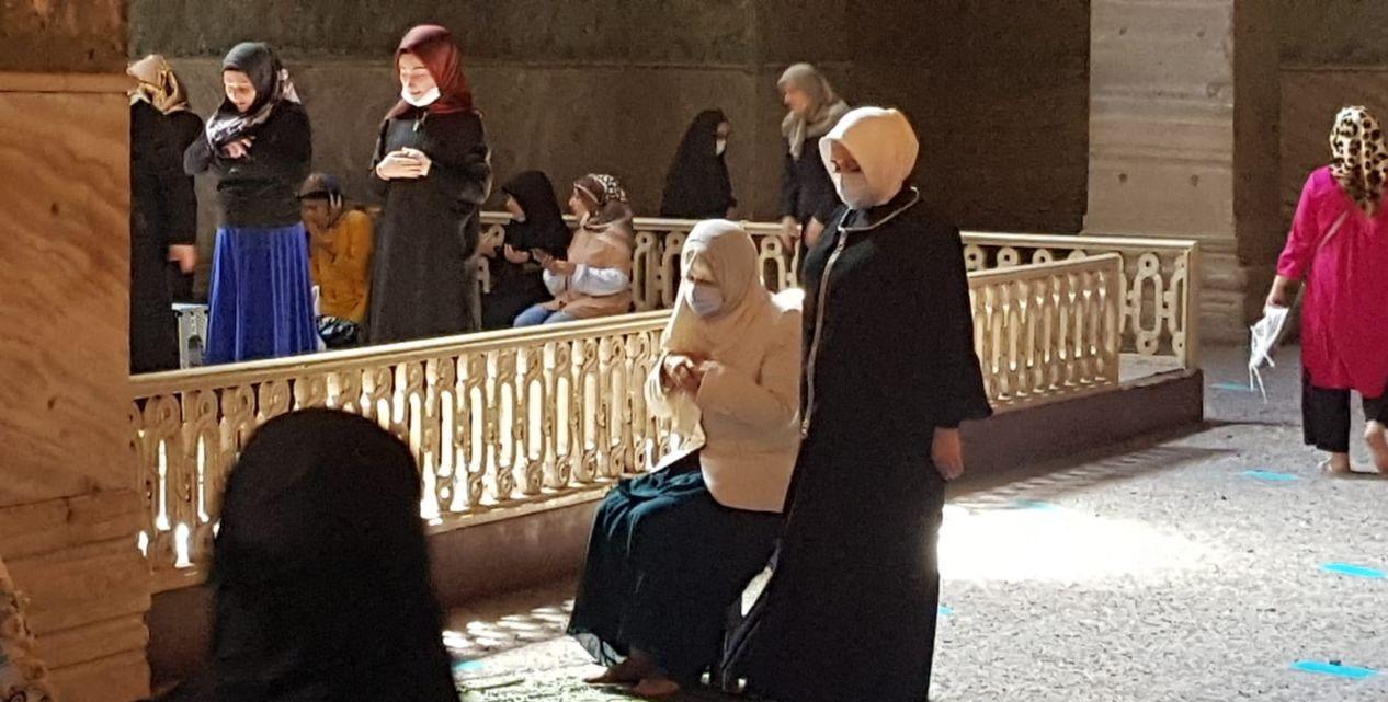 Meral Akşener: Ayasofya'da M.Kemal için dua ettim