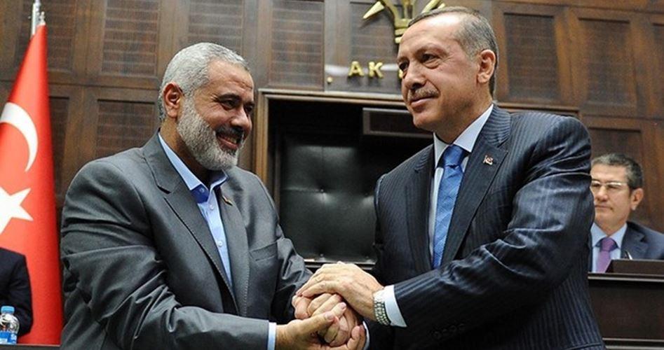Erdoğan Haniye İle Görüşüyor