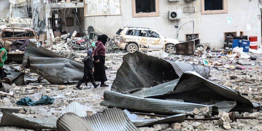 Esed,İran ve Rusya'nın İdlib'e Geçen Ayki Saldırılarında 188 Sivil Öldü