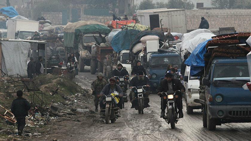 İdlib'de yoğun saldırılar nedeniyle 151 bin sivil daha yerinden edildi