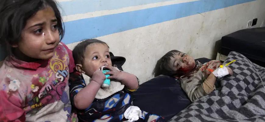Rusya 5 yılda Suriye'de en az 22 bin sivil katletti