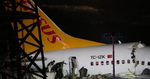 Uçak kazasına giden polis aracı kaza yaptı, 5 polis yaralandı