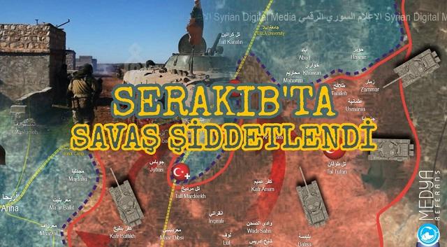 Serakıb'ta Çatışmalar Şiddetlendi