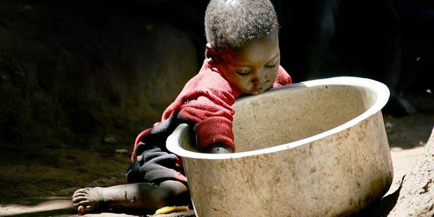 Dünyada 821 milyon insan açlıkla savaşıyor