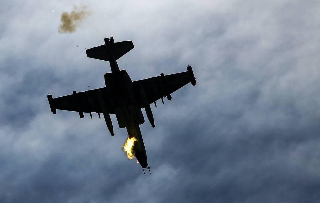 Ermenistan'a ait SU 25 savaş uçağı düşürüldü