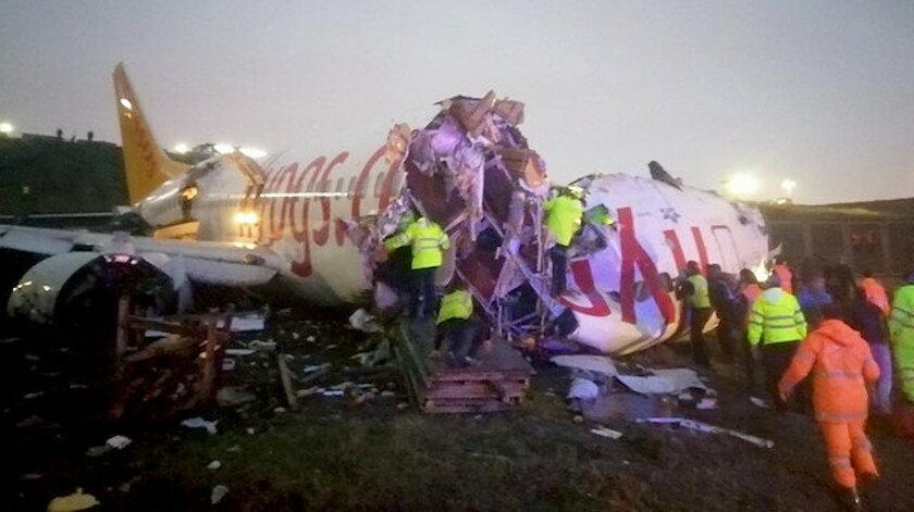 Uçak Kazasında 1 yolcu hayatını kaybetti