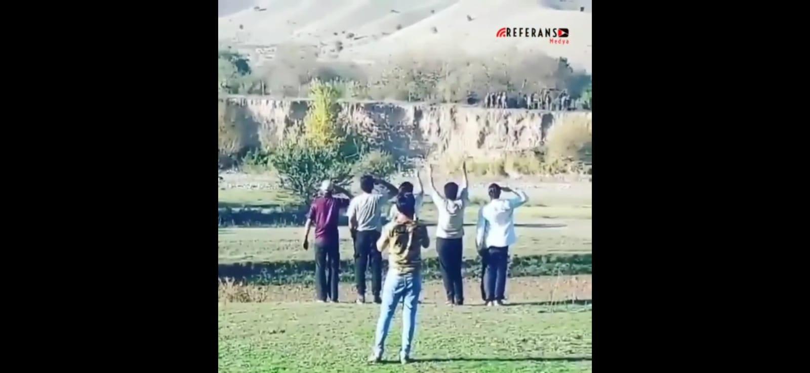 İran Türkleri'nden Karabağ'daki Azerbaycan askerlerine coşkulu karşılama
