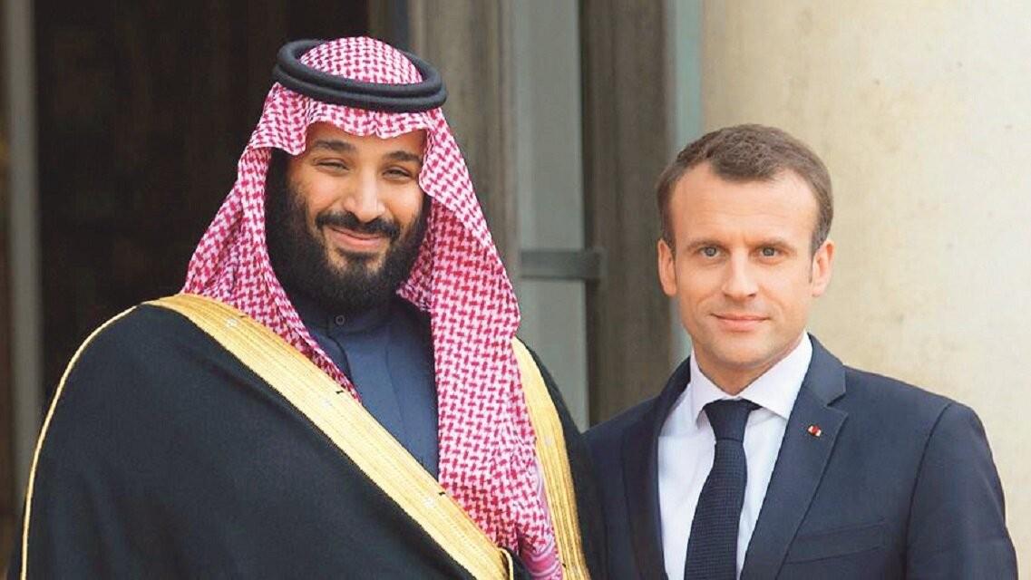 Suud, İslam'a saldıran Macron'a destek çıktı!