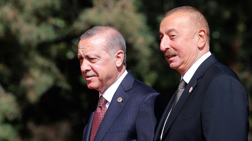 Erdoğan'dan Aliyev'e zafer tebriği