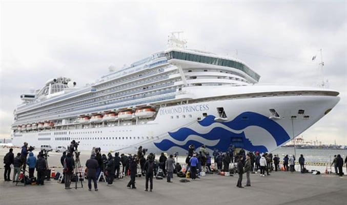 Japonya'daki karantina gemisinde koronavirüs vakası artıyor