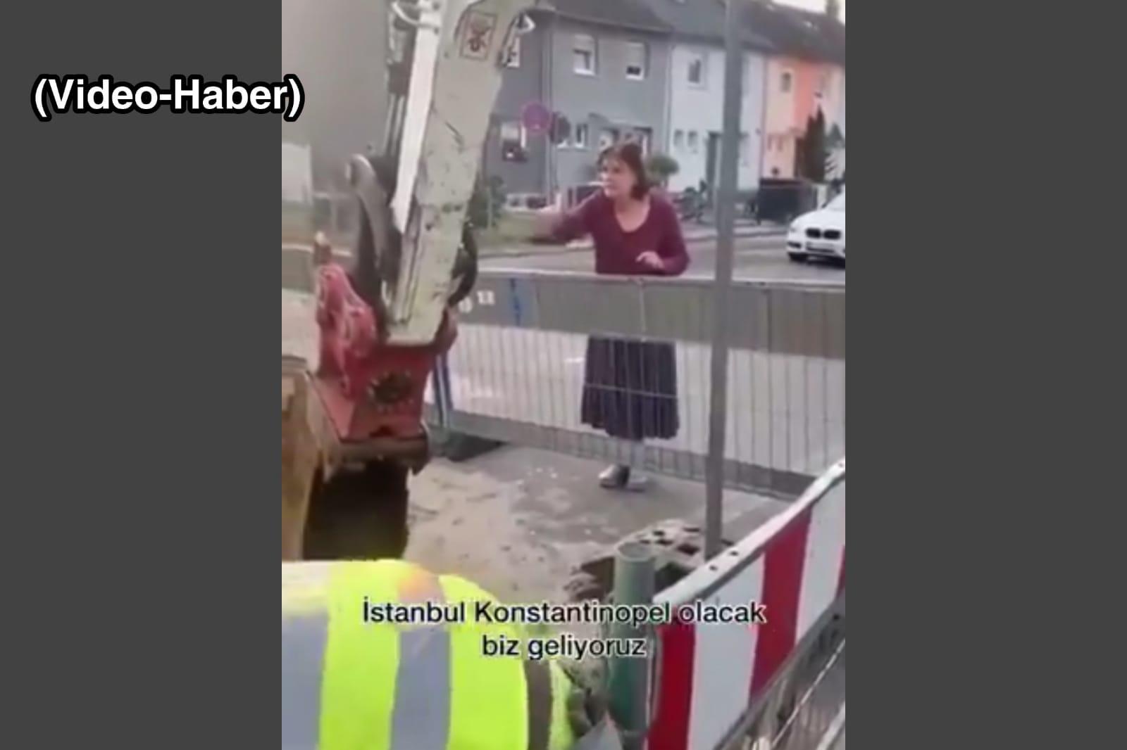 """Alman kadından Türk komşularına """"Hepiniz ölüsünüz"""" tehdidi"""