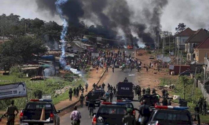 Nijerya'daki polis karşıtı eylem: 94 sivil ve polis öldü