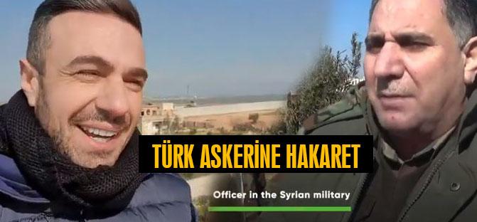 Türk Askerine Hakaret