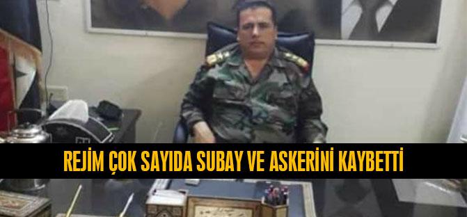 Rejim Çok Sayıda Subay ve Askerini Kaybetti