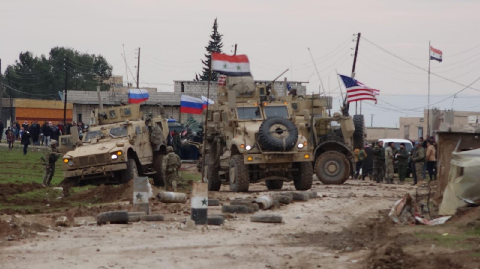 ABD ve Esed Askerleri Çatıştı