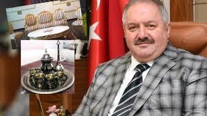Kayseri OSB Başkanı 1 buçuk milyon liraya makam odası dizayn etti