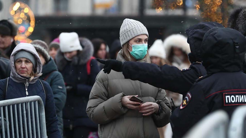 Virüs Rusya'da