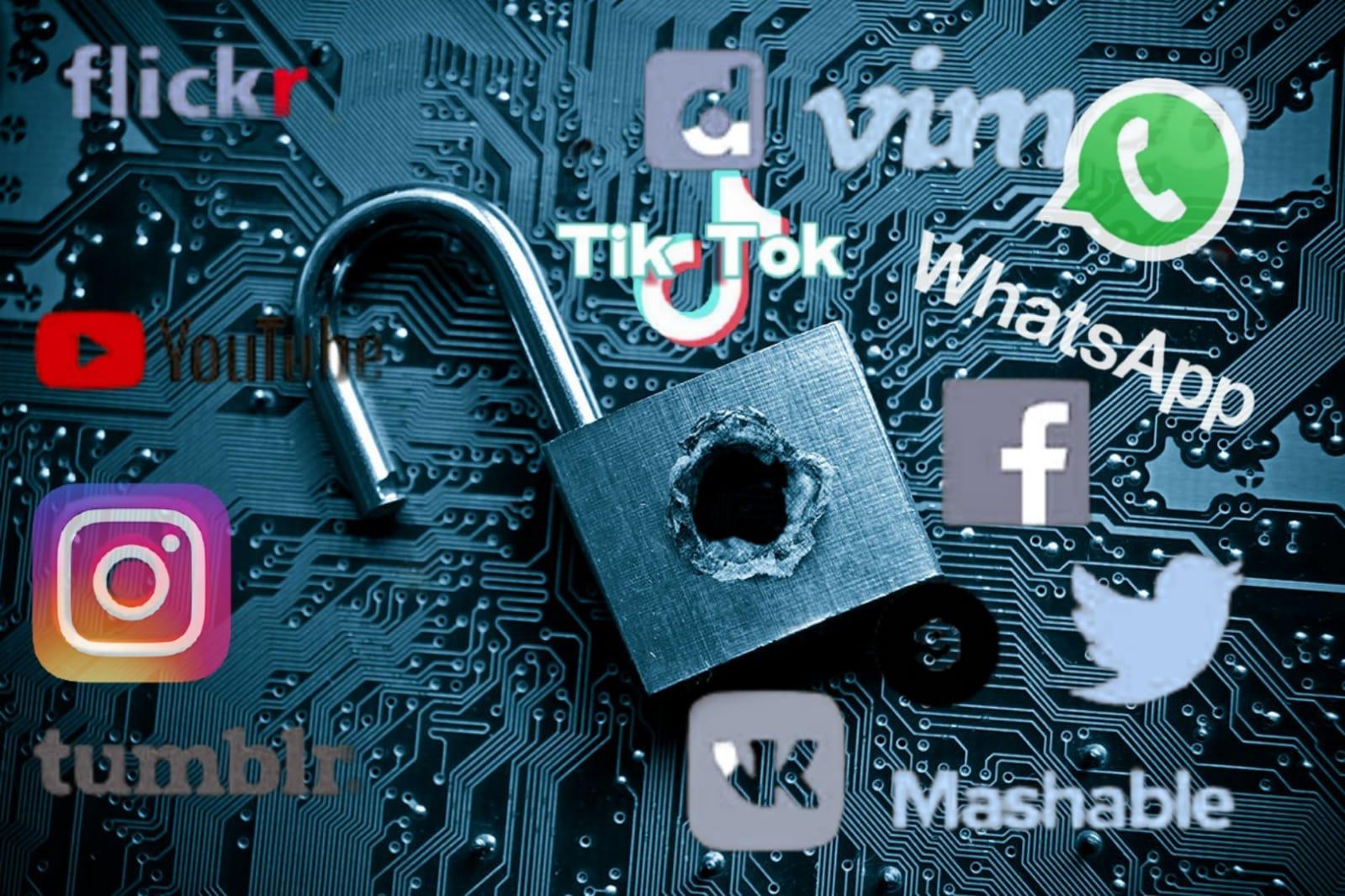 İnternet ağları mahrem bilgi deposuna dönüştü: Facebook yüzde 70'le ilk sırada
