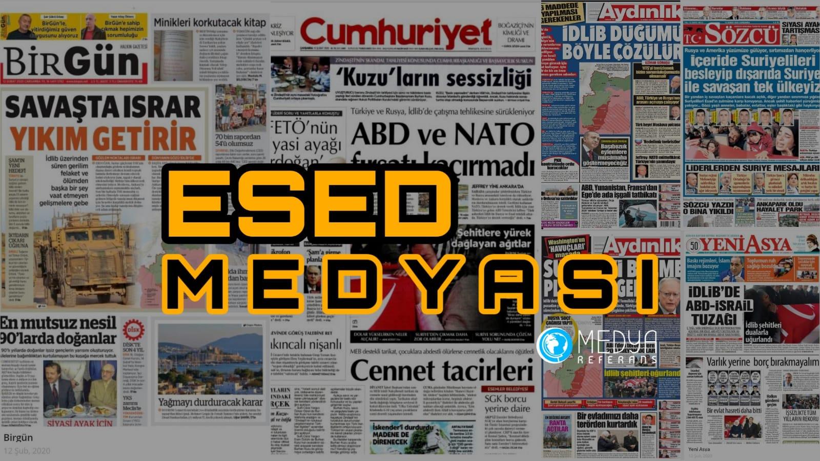 Türkiye'ye Karşı Esed'i Destekliyorlar