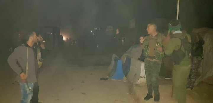 Haseke'ye bağlı Kamışlı ilçesinde Esed-PKK gerginliği çatışmaya dönüştü