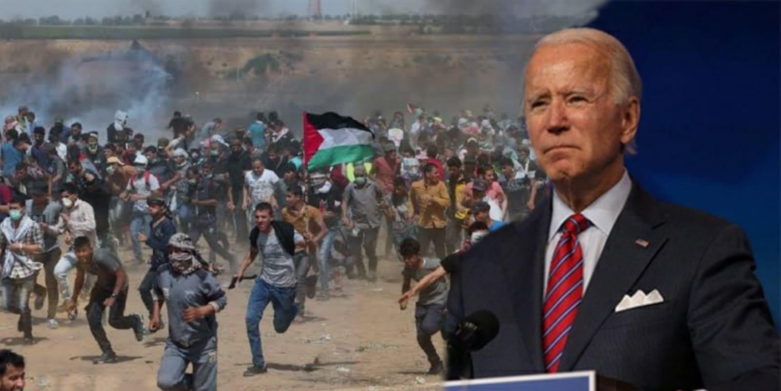 Joe Biden ABD'nin Filistin ambargosunu kaldırdı