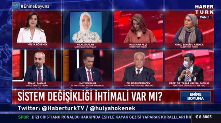 Habertürk yayınında PKK'lı FETÖ'cü kavgası
