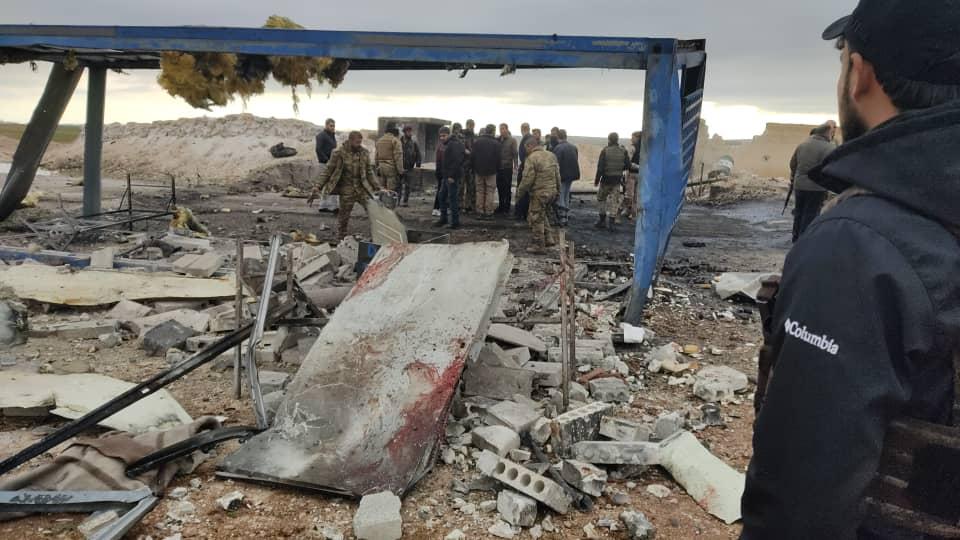 El Bab'ta ÖSO kontrol noktasına saldırı: 6 Muhalif asker öldü, 4'ü yaralı