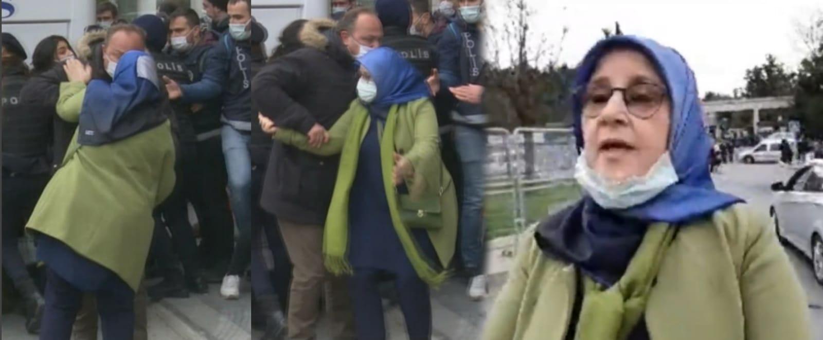 28 Şubat'ın başörtüsü savunucusu Hüda Kaya, Velevki hakaret etsinler'' sözleriyle Kabe tahrikçilerine destek verdi