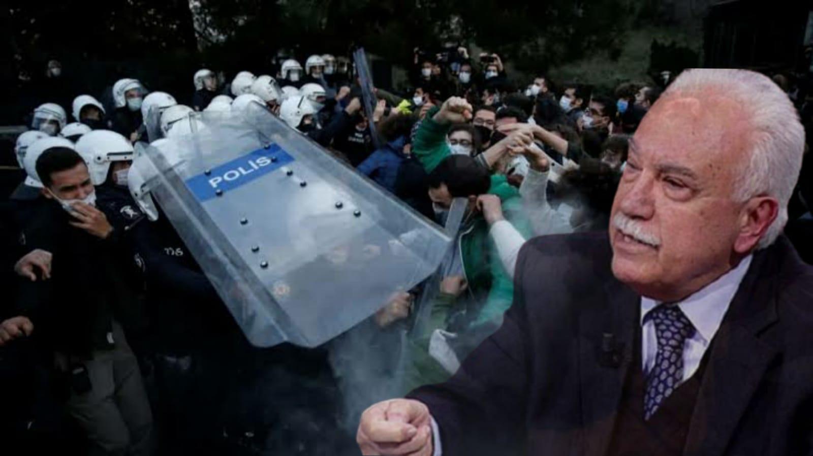 Perinçek'ten Boğaziçi eylemleri çıkışı: Öğrencileri haklı buldu