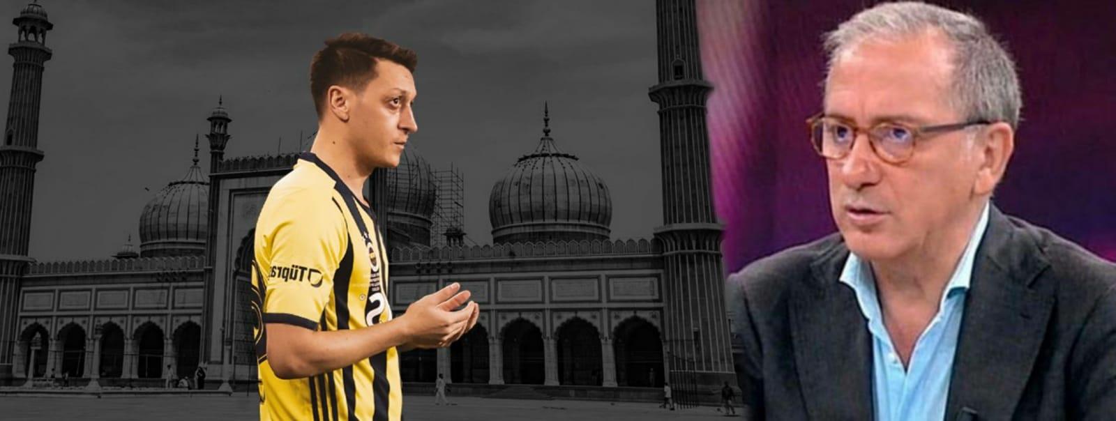 Fatih Altaylı Mesut Özil'in Camii paylaşımına ve dua etmesine rahatsız oldu