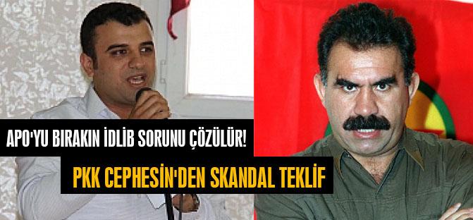 PKK Cephesin'den Skandal Teklif: Apo'yu bırakın İdlib Sorunu Çözülür!