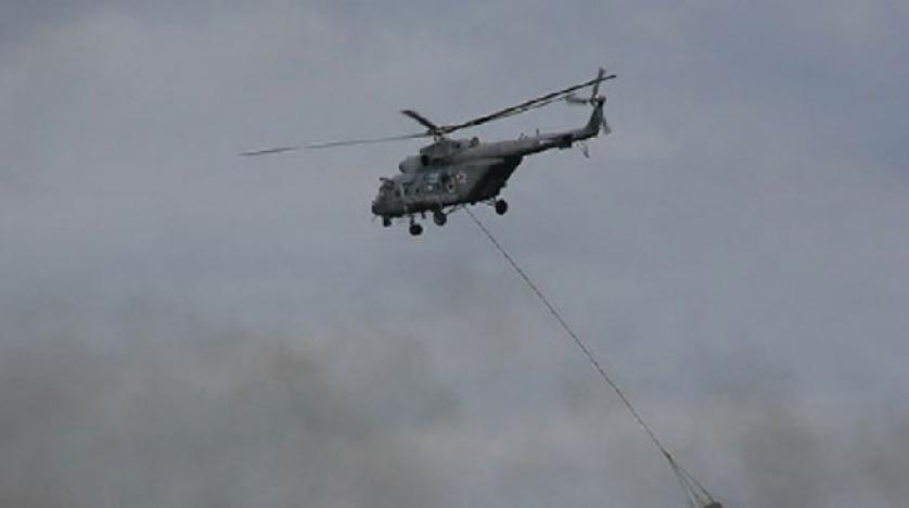 Bir Helikopterde Rusya'da Düştü