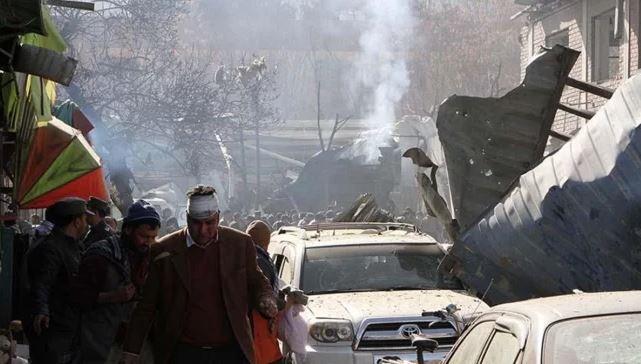 Kabil'de polis aracına bombalı saldırı