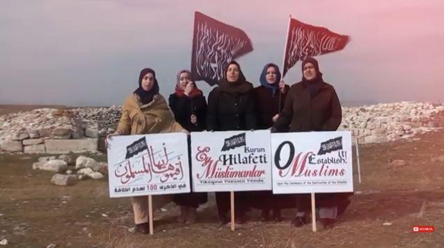 """""""Hilafet Belgeseli"""" çeken 4 kadın gözaltına alındı"""