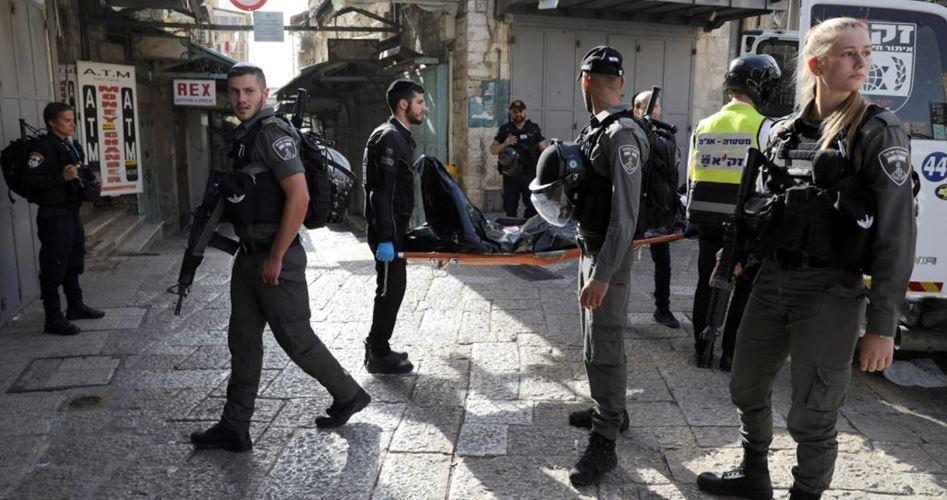 Filistinli genç bıçaklama girişiminde bulunduğu gerekçesiyle gözaltına alındı