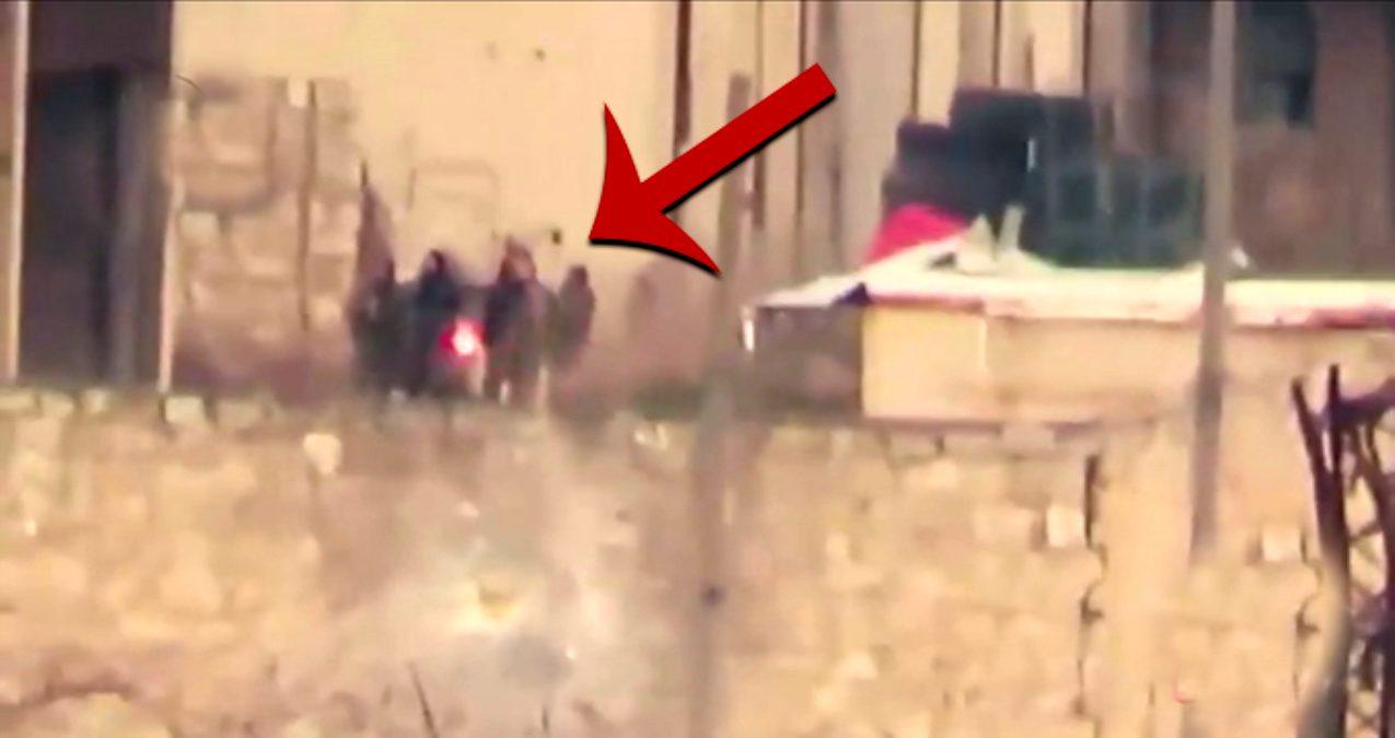 Esed'in askerleri böyle havaya uçuruldu