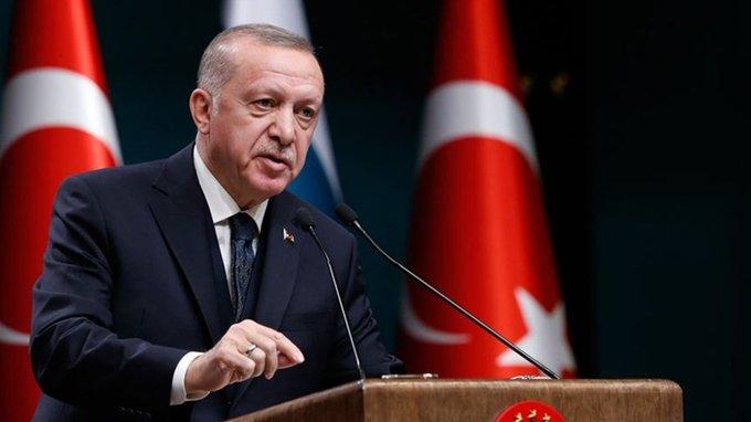 Erdoğan:  Bugün itibari ile yeni kontrollü normalleşmeye başlıyoruz