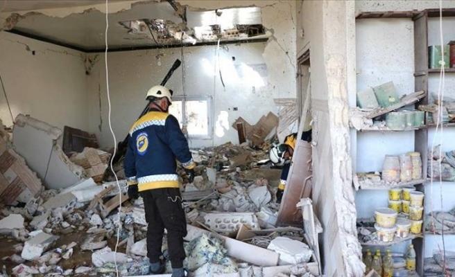 Beşar Esed rejimi İdlib'te yine sivilleri vurdu