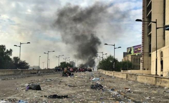 Bağdat'ta Yeşil Bölge'ye füze saldırısı!