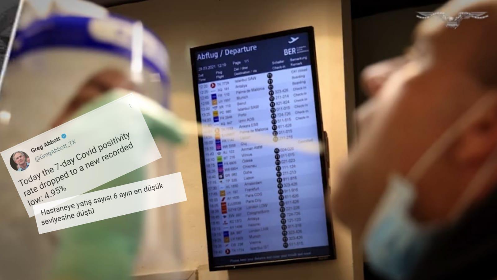 Koronavirüs kısıtlamalarının kalktığı Texas'ta, vaka sayılarında rekor düşüş yaşandı