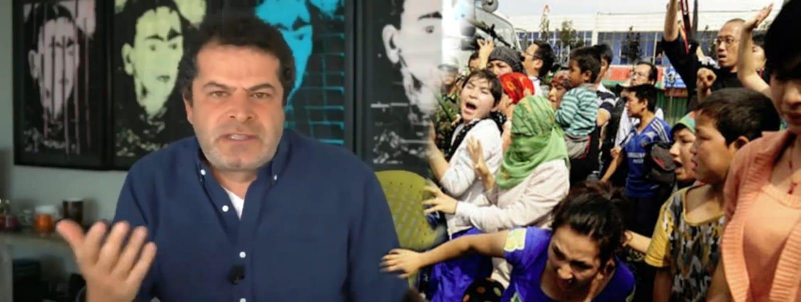 Cüneyt Özdemir, Çin'in zulmüne uğrayan Uygurlar'ı terör örgütü PKK ile aynı kefeye koydu