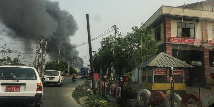 Myanmar'da cuntaya bağlı polis karakoluna saldırı: 14 ölü