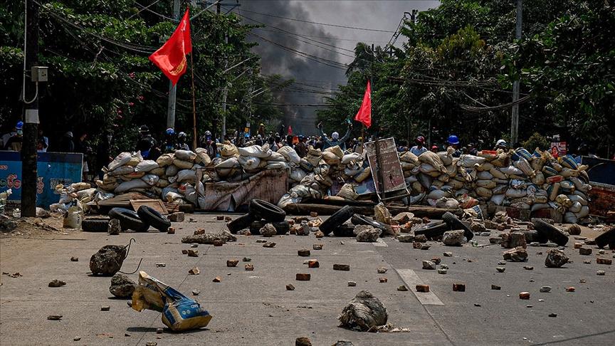 Myanmar'da askeri hükümete karşı sivil hükümet kuruldu