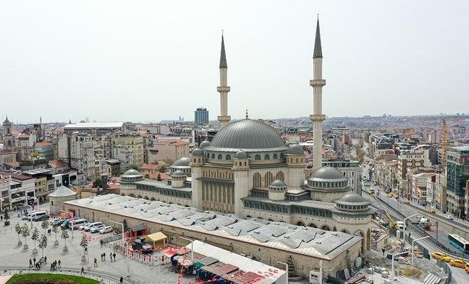 Taksim Camiinin açılış tarihi belli oldu!